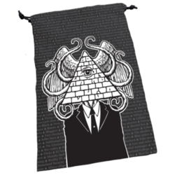 Cover for Dice Bag: Illuminati